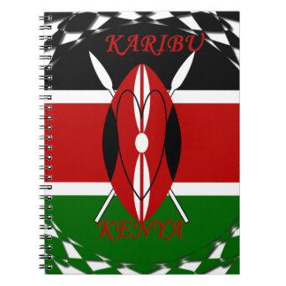 Hakuna matata Karaibu Kenya Notebook