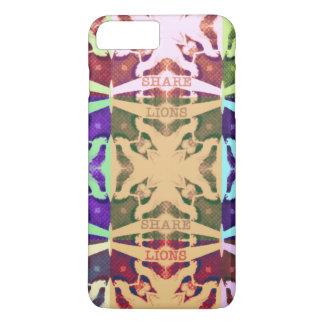 Hakuna Matata lions text iPhone 8 Plus/7 Plus Case