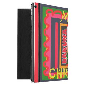 "Hakuna Matata Lovey Merry Christmas colors iPad Pro 12.9"" Case"