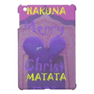 Hakuna Matata Merry Christmas Love  Design.jpg Case For The iPad Mini