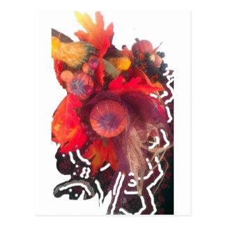 Hakuna Matata Pumkin special Gift Fruit Basket.png Postcard