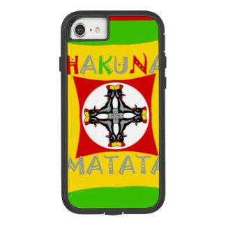 Hakuna Matata Rasta Color Red Golden Green Case-Mate Tough Extreme iPhone 8/7 Case