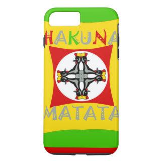 Hakuna Matata Rasta Color Red Golden Green iPhone 8 Plus/7 Plus Case