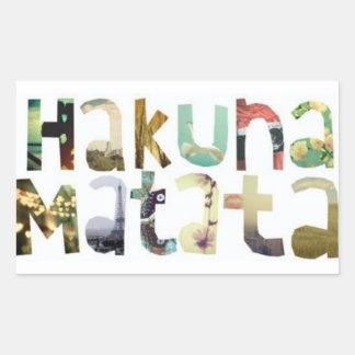 Hakuna Matata Stickers