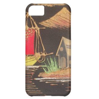 Hakuna Matata Trendy Vintage Sail Ship Safari Nigh iPhone 5C Cover