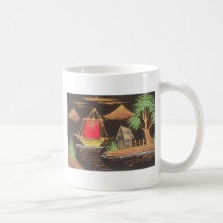 Hakuna Matata Trendy Vintage Sail Ship Safari Nigh Coffee Mug