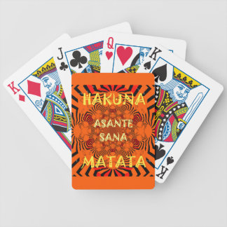 Hakuna Matata Uniquely Exceptionally latest patter Bicycle Playing Cards