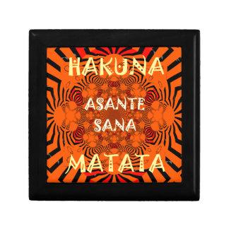 Hakuna Matata Uniquely Exceptionally latest patter Jewelry Box