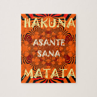 Hakuna Matata Uniquely Exceptionally latest patter Jigsaw Puzzle