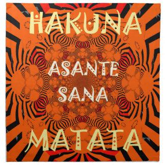 Hakuna Matata Uniquely Exceptionally latest patter Napkin
