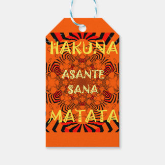 Hakuna Matata Uniquely Exceptionally latest patter Pack Of Gift Tags