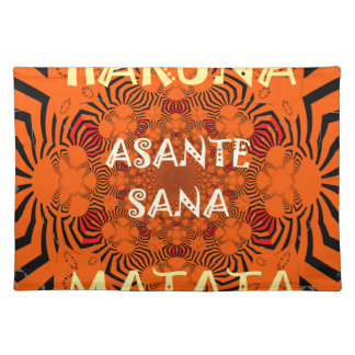 Hakuna Matata Uniquely Exceptionally latest patter Placemat