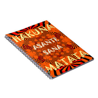 Hakuna Matata Uniquely Exceptionally latest patter Spiral Note Books