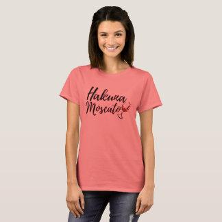Hakuna Moscato Wine Lovers T-Shirt