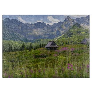 Hala Gasienicowa Mountain Huts Cutting Board