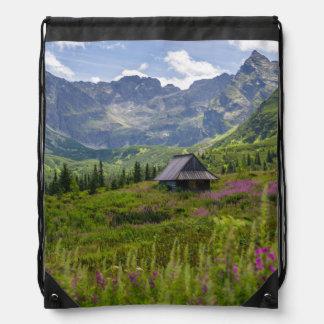 Hala Gasienicowa Mountain Huts Drawstring Bag