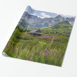 Hala Gasienicowa Mountain Huts Wrapping Paper