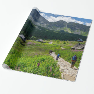 Hala Gasienicowa Tatry Poland Wrapping Paper