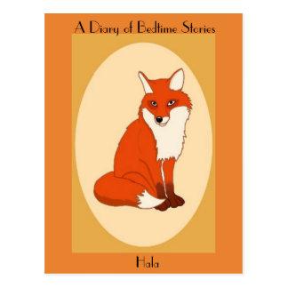 Hala the Good Fox Postcard
