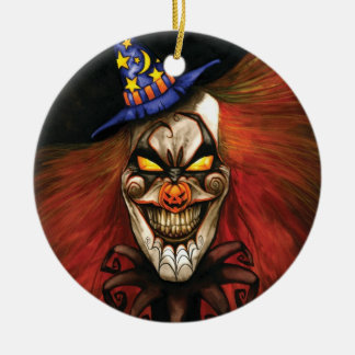 HALcLOWnEEN Ornament