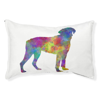 Halden Hound in watercolor Pet Bed