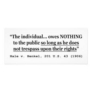 HALE V HENKEL 201 US 43 1906 Case Law Announcement