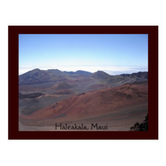 Haleakala, Maui Postcard