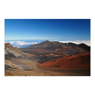 Haleakala Mountains Poster
