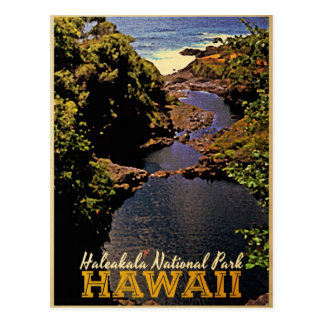 Haleakala National Park Hawaii Postcard