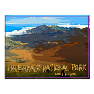 Haleakala National Park, Maui Hawaii Postcard