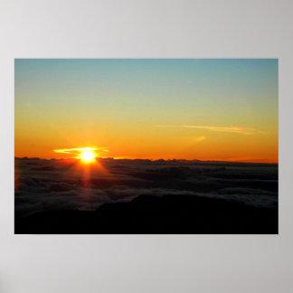 Haleakala Sunrise Poster