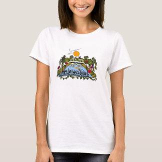 Haleiwa Girl Hawaiian Custom Surfboards T-Shirt