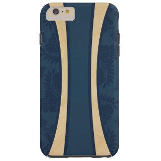 Haleiwa Hawaiian Striped Surfboard Maple Tough iPhone 6 Plus Case