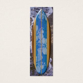 Haleiwa Surfboard Bookmark Mini Business Card