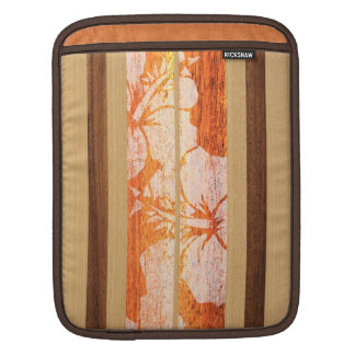 Haleiwa Surfboard Hawaiian Rickshaw iPad Case
