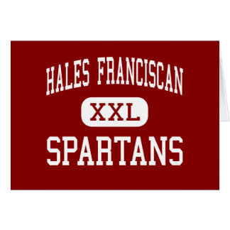 Hales Franciscan - Spartans - High - Chicago Cards