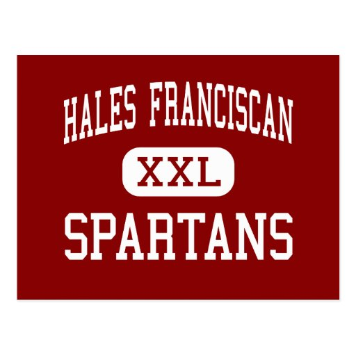 Hales Franciscan - Spartans - High - Chicago Postcards