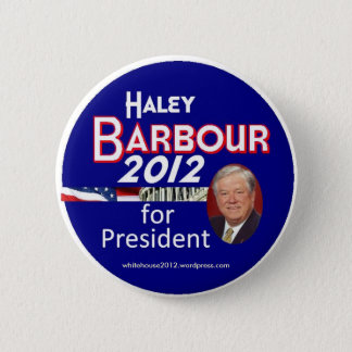 Haley Barbour 2012 2 Inch Round Button