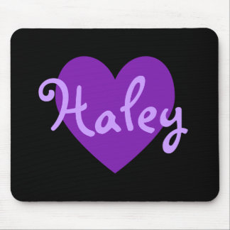 Haley in Purple Mouse Pad