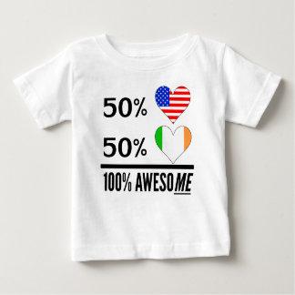 Half American Half Irish Baby T-Shirt
