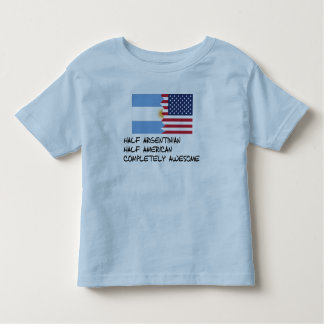 Half Argentinian Completely Awesome Toddler T-shirt