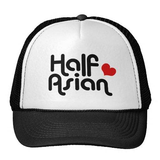 Half Asian Mesh Hat