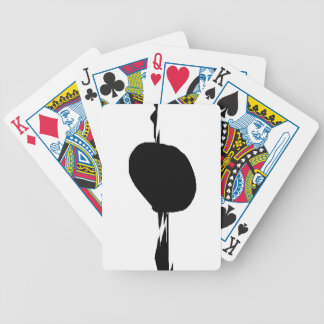 Half Bicycle Playing Cards