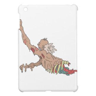 Half Bod Creepy Zombie Dragging Intestines Case For The iPad Mini