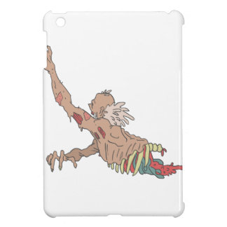 Half Bod Creepy Zombie Dragging Intestines iPad Mini Cover