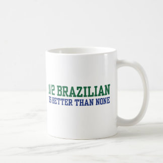 Half Brazilian Coffee Mug