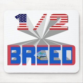 Half Breed - Guam Mouse Pad