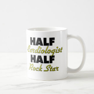 Half Cardiologist Half Rock Star Coffee Mug