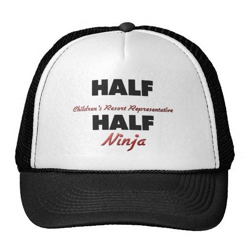 Half Children's Resort Representative Half Ninja Hats