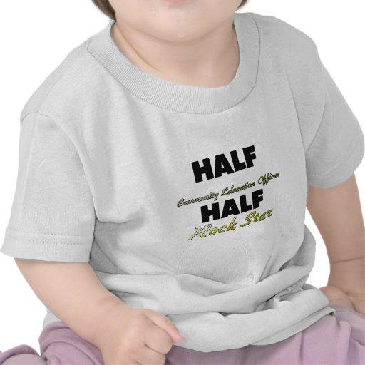 Half Community Education Officer Half Rock Star Tshirts